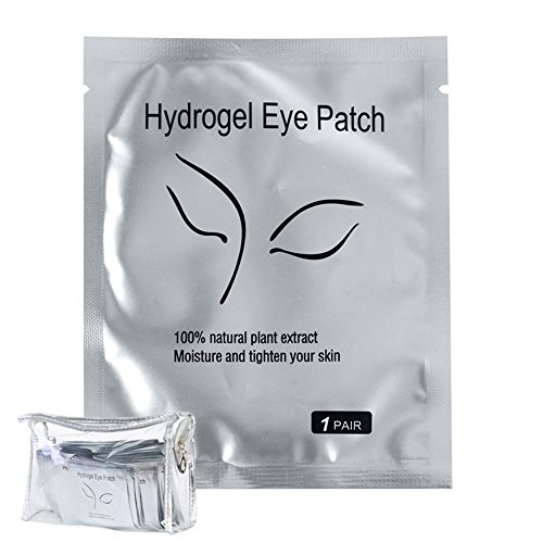 NCONCO 200PCS Eye pads Eyelash Pad Gel Patch Lint Free Lashes Extension Mask Eyepads