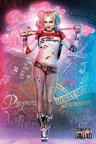 51gO8IP5aML._SL500_ Harley Quinn Suicide Squad Posters