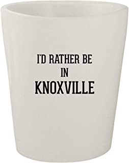 I'd Rather Be In KNOXVILLE - White Ceramic 1.5oz Shot Glass