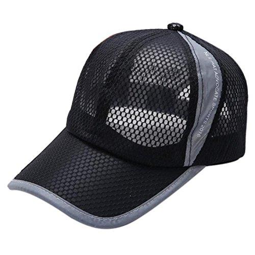 Moent Hat Verano Transpirable Malla Gorra De Béisbol Hombres Mujeres Deporte Sombreros Gorra De B