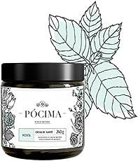 Pócima - Crema de Menta y aceite de Karité. Contiene Aceite Esencial de Menta y Aloe Vera certificado Orgánico. 240 g.