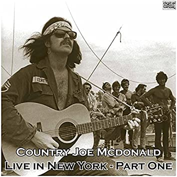 Live in New York - Part One (Live)