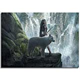 creativa Rompecabezas Puzzle Lobo árticoFamily Activity can be custom Puzzle de papel 52x38cm