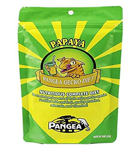 Pangea Früchtemix, Banane, Papaya, ausgewogenes Futter für Geckos, ca. 0,06 l