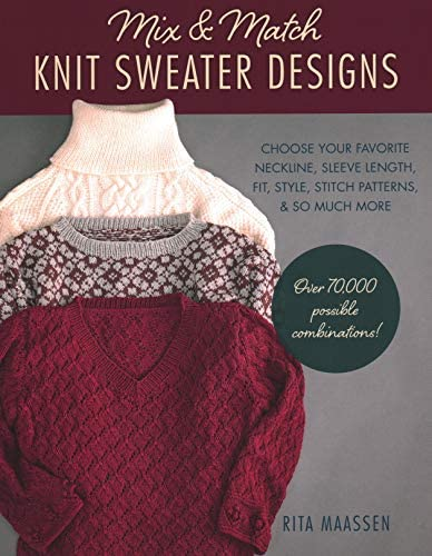 Mix and Match Knit Sweater Designs Choose your favorite neckline sleeve length fit and style product image