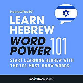 Learn Hebrew: Word Power 101 cover art