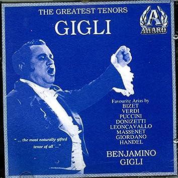 The Greatest Tenors - Benjamino Gigli