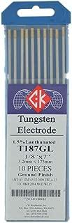 CK T187GL 1.5% Lanthanated Tungsten Electrode 1/8