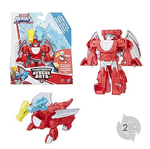Transformers Playskool Heroes - Figura de BOT de Rescate de BOT de Bombero