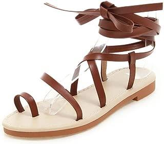 BalaMasa Womens ASL06776 Pu Flats Sandals