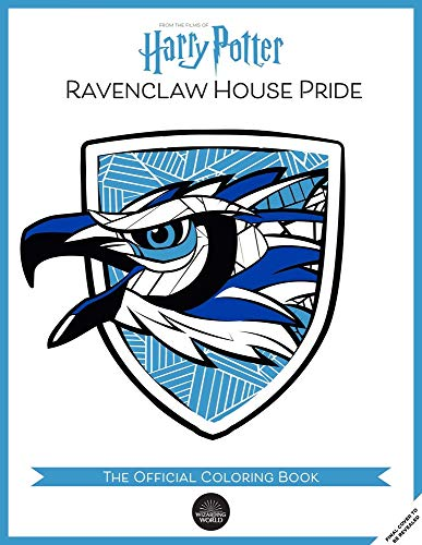 Ravenclaw House Pride: The Official Coloring Book: (gifts Books for Harry Potter Fans, Adult Coloring Books)