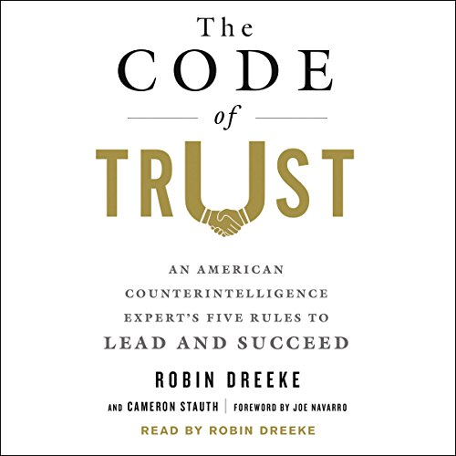 The Code of Trust audiobook cover art