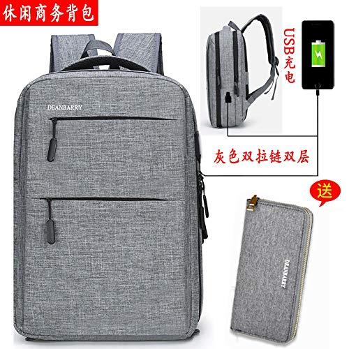 Rucksack Business Herren Tasche RucksackNeuer Trend Einfache Computer Tasche Reisetasche Schultasche Mode Rucksack 9