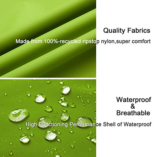 51gOFHaj9 L. SS500  - Diamond Candy Women's Waterproof Jacket Outdoor Hooded Raincoat