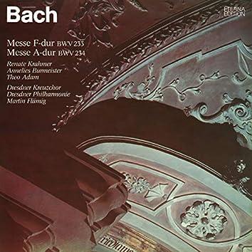 Bach: Messe F-Dur & Messe A-Dur