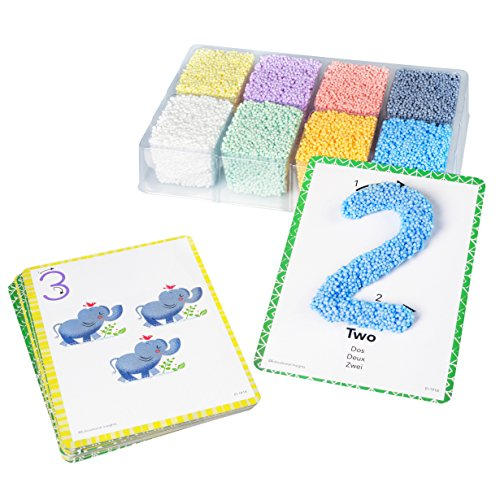 Educational Insights Playfoam Shape & Learn Numbers Set | Non-Toxic, Never Dries Out |Preschoolers Practice Numbers Recognition & Formation| Perfect for Ages 3 and up