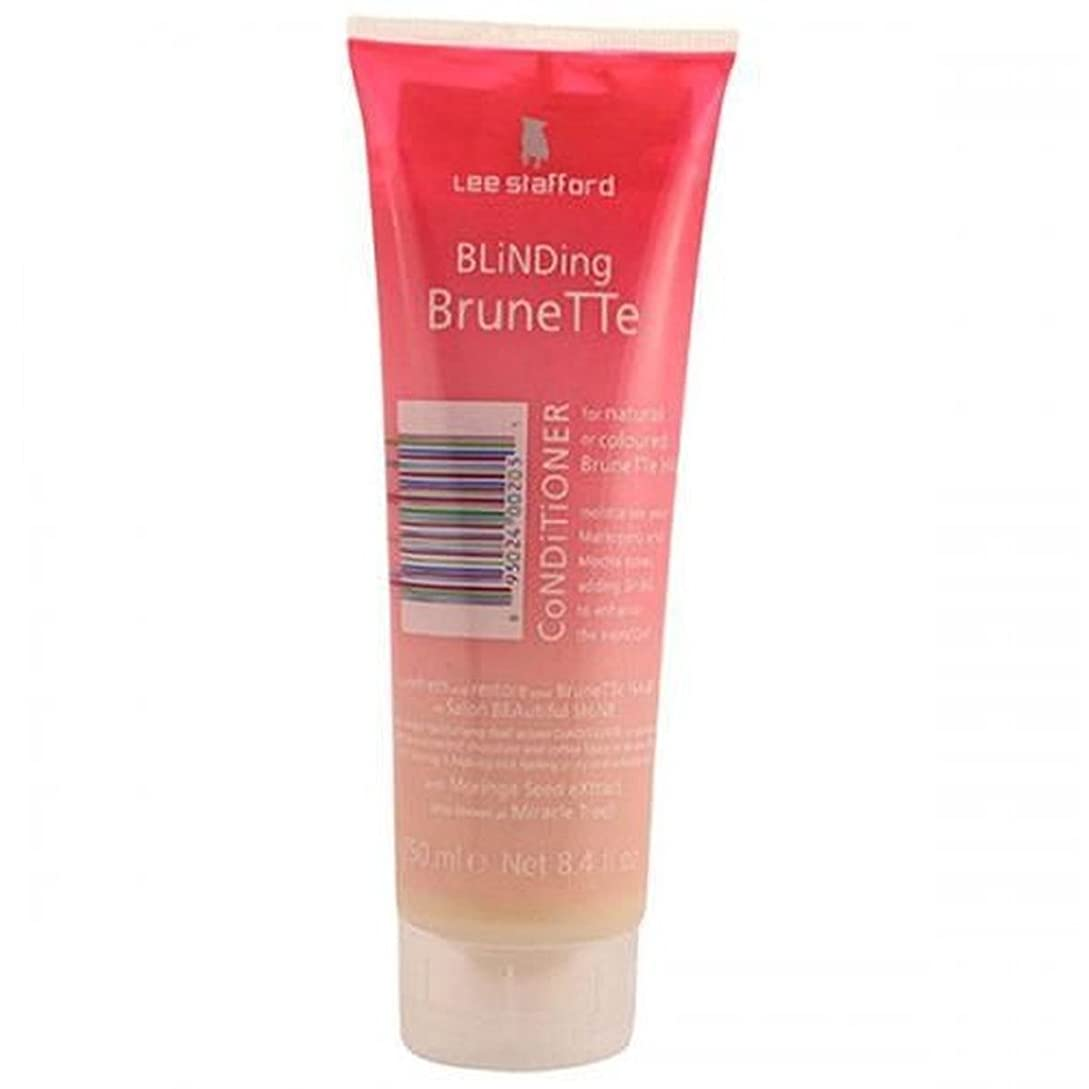 配偶者モス予防接種Lee Stafford Blinding Brunette Conditioner For Natural & Coloured Hair 250ml