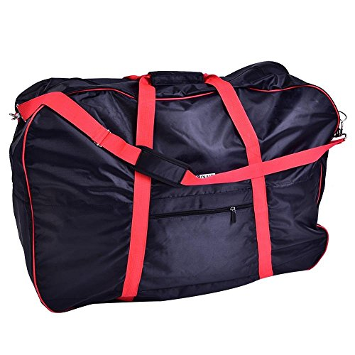 Folding Bicycle Bag, Portable Folding Bike Storage Shoulder Bag Bike Carry Pouch Cover for 14-20in Bikes