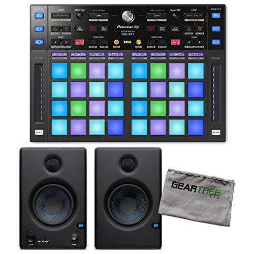 Best Review Of Pioneer DJ DDJ-XP1 Rekordbox DJ Add-On Controller w/Studio Monitors and Cloth