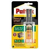 Pattex 1476719 - Adhesivo epóxico universal Jeringa transparente 11 ml 5 minutos
