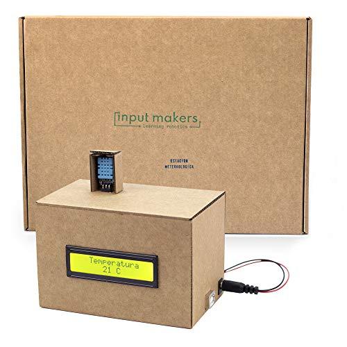 InputMakers Kit de Robótica Estación Meteorológica Compatible con Arduino IDE con Manual Descargable en Español