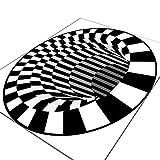 3D Visual Illusion Bedroom Carpet 3D Halloween Clown Trap Visual...