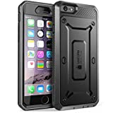 SUPCASE Cover iPhone 6s Plus Cover iPhone 6 Plus, Custodia Rigida a 360 gradi con Clip e Protezione Schermo Integrata [Unicorn Beetle Pro] Rugged Case per iPhone 6 Plus / iPhone 6S Plus, Nero