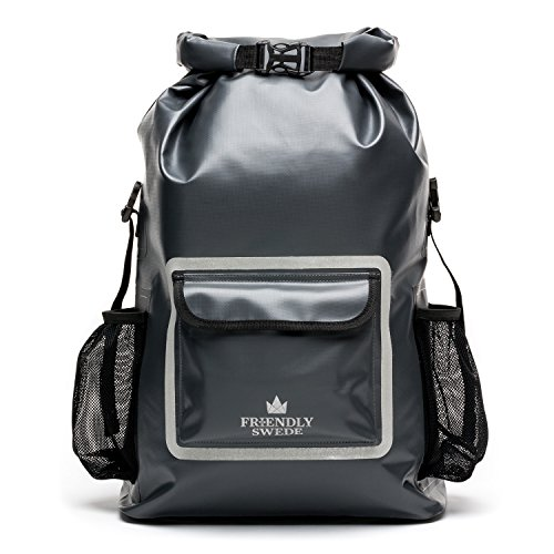 The Friendly Swede Zaino Impermeabile per Computer Portatile (33 L) - Backpack Laptop - Zaino PC