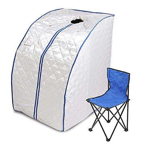 VEVOR Far Infrared Sauna Portable Heater Sauna Box Indoor Folding 1000W...