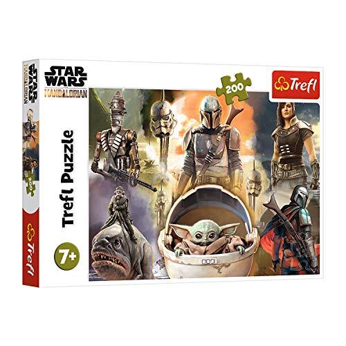 Trefl, 13276 Puzzle, Bereit zum Kämpfen, 200 Teile, Star Wars, für Kinder ab 7 Jahren