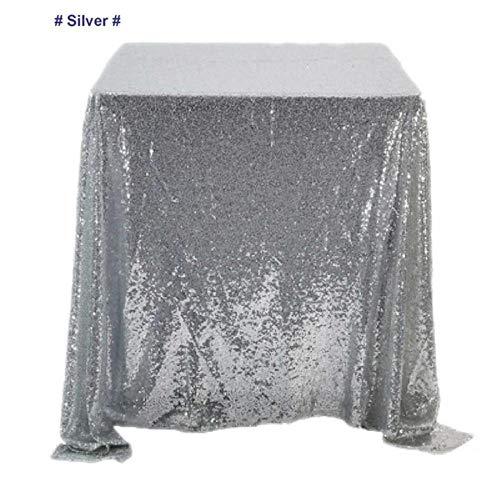 BXM rechthoek pailletten glanzend tafelkleed banket tafel bruiloft receptie Decor Rose gouden zilver