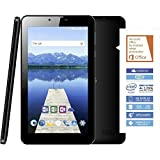 Odys Nova X7 Plus 3G 17,78 cm (7 Zoll) Tablet-PC (Intel Atom x3-C3235RK, 8GB Festplatte, 1GB RAM, Mali-450MP4, Android 6.0) schwarz