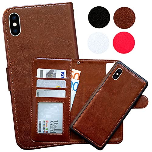 iPhone X/Xs - Plånboksfodral/Magnet Skal