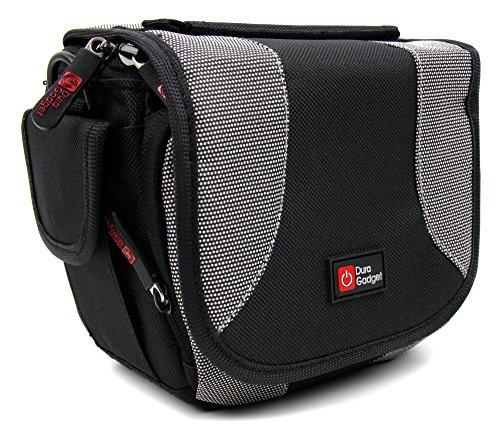 Kameratasche 15 x 10 x 8 cm Trennelement Schultergurt für Kompakt DSLR Bridge Action Kameras Camcorder und Fernglas