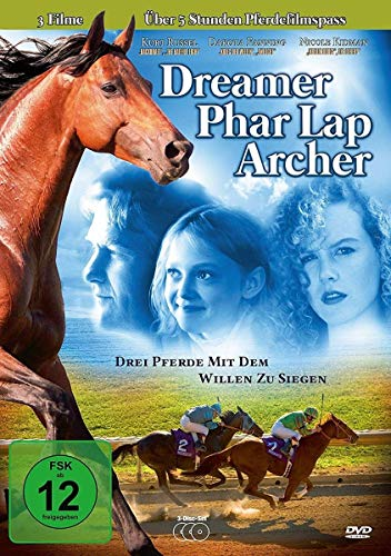 Dreamer l Phar Lap l Archer - 3 Pferde mit dem Willen zu siegen [3 DVDs]