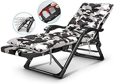 ADHW Recliner,Recliner Chairs Outside,Outdoor Garden Rocking Chair Relaxing Chair,Garden Lounger Lightweight,Indoor Deck Chai