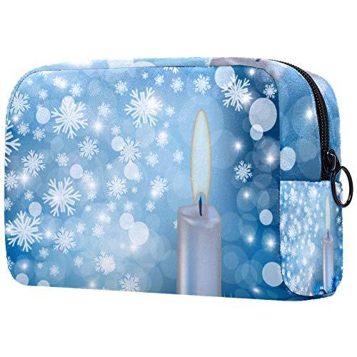 Reise-Kosmetiktasche, tragbare Kosmetiktasche, verstellbare Trennwand, für Make-up-Pinsel, Kosmetik, mehrfarbig