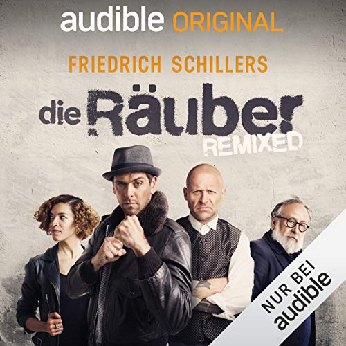 Die Räuber - REMIXED audiobook cover art