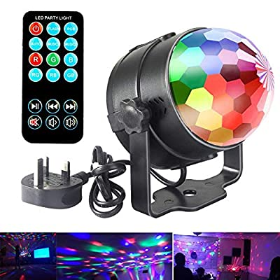 Disco lights Stage LED Party Strobe Disco Ball DJ Lights Music Activated Light