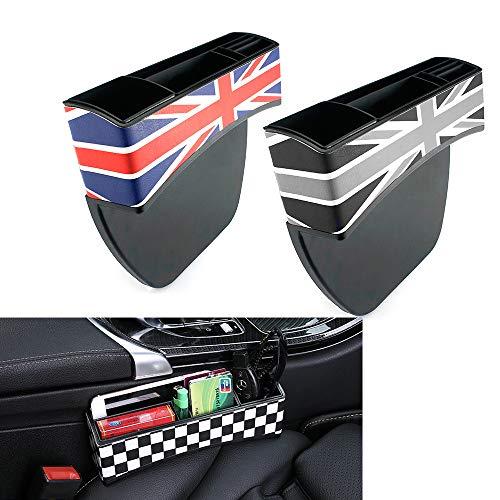 QIDIAN pour Mini Cooper R56 R55 R50 R53 R60 F56 F55 F54 F60 Countryman Clubman Boîte de Rangement pour siège Auto Mini Cooper S One Accessoires