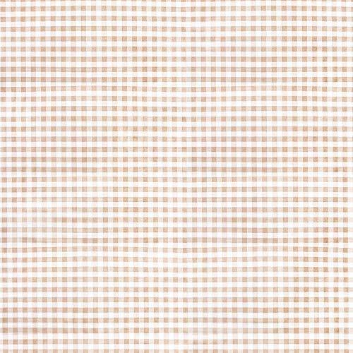 20 stuks opvouwbare tafelkleden M 'Like Linnen - Vichy' 70 g/m2 100 x 100 cm Taupe Spunlace