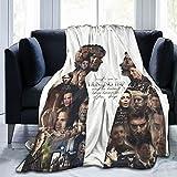 Blanket Lightweight Soft Flannel Fleece All-Season Sofa Bed Plush Throw Blanket (100 x 125cm)