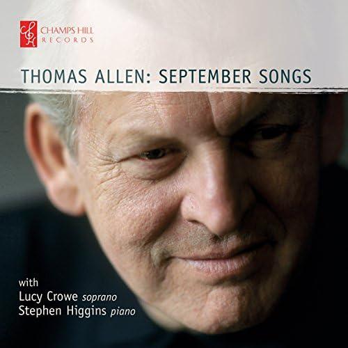 Thomas Allen, Stephen Higgins & Lucy Crowe