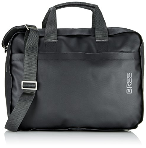 BREE Unisex Adult Pnch 67 Laptop Bag Black Size: One Size