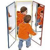 Henbea- espejo infantil acrílico tríptico, 100x32x3 cms (790)