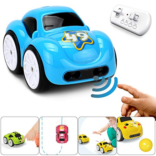 Ferngesteuertes Auto - Musik Smart RC LKW Auto Spielzeug 2,4 GHz 4WD Mini Aufladen Eductional Elektro Car Weihnachtsgeburtstagsgeschenk für im Vorschulalter Kinder Baby Jungen Mädchen