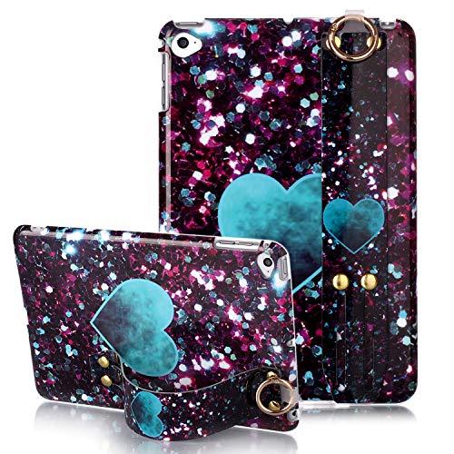 iPad Mini 5 Case, iPad Mini 4 Case, Yoomer Marble Design Slim Thin Soft TPU Bumper Glossy Skin Anti-Scratch Protective Case with Adjustable Stand for iPad Mini 4/Mini 5 (7.9 Inch)