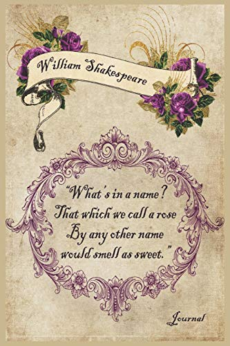 William Shakespeare 'What's in a name? That which we call a rose By any other name would smell as...