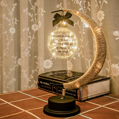 Mayamila Sympathy Gifts Memorial Moon Lamp Gifts in Memory of Loved One Bereavement Gifts Remembrance Gifts Condolence Gifts for Loss of Mother, Loss of Father