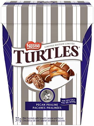 NESTLÉ TURTLES Pecan Praline Chocolates; 317g Box
